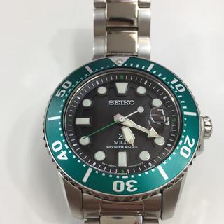 セイコー(SEIKO)の美品!SEIKO PROSPEX ソーラー ダイバーズ 腕時計 SNE451(腕時計(アナログ))