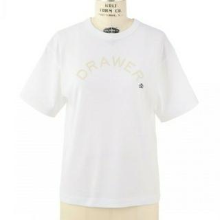 ドゥロワー(Drawer)の【新品未使用】2018SS Drawer 人気ロゴTシャツ ドゥロワー(Tシャツ(半袖/袖なし))