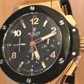 ウブロ(HUBLOT)の【値下中】HUBLOT ビッグバン(腕時計(アナログ))