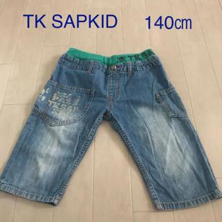 THE SHOP TK - デニムハーフパンツ140  ハーフパンツ140 パンツ140 デニム140