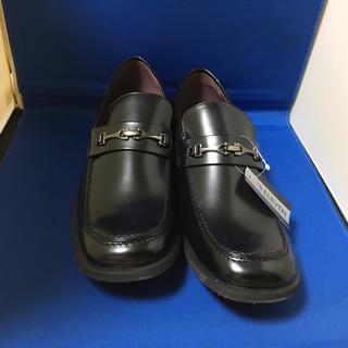 幅広で履きやすい黒のビジネスシューズ26、5cm 05042(ドレス/ビジネス)