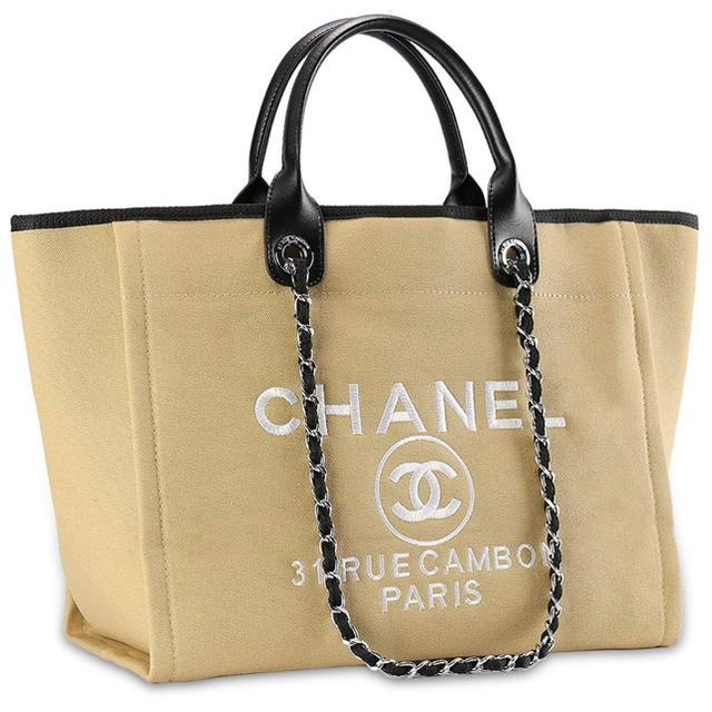 CHANEL - CHANELトートバッグの通販 by y|シャネルならラクマ