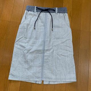 ビッキー(VICKY)のVICKY ビッキー スカート ボーダー 1(ひざ丈スカート)