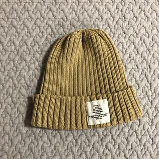 コドモビームス(こども ビームス)のsak341様専用smoothy ニット帽 ベージュ(帽子)
