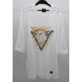 ヴェルサーチ(VERSACE)の*0844・VERSACE JEANS COUTURE 半袖Tシャツ ホワイト(Tシャツ/カットソー(半袖/袖なし))