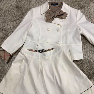 バーバリー(BURBERRY)のBurberry 130 入学式(ドレス/フォーマル)