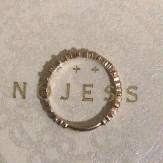 ノジェス(NOJESS)のノジェス ピンキー ダイヤモンド リング(リング(指輪))