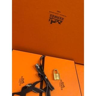 エルメス(Hermes)のHERMESエルメス パドロック品薄カデナ南京錠のみ❗ゴールド122番未使用品(キーホルダー)