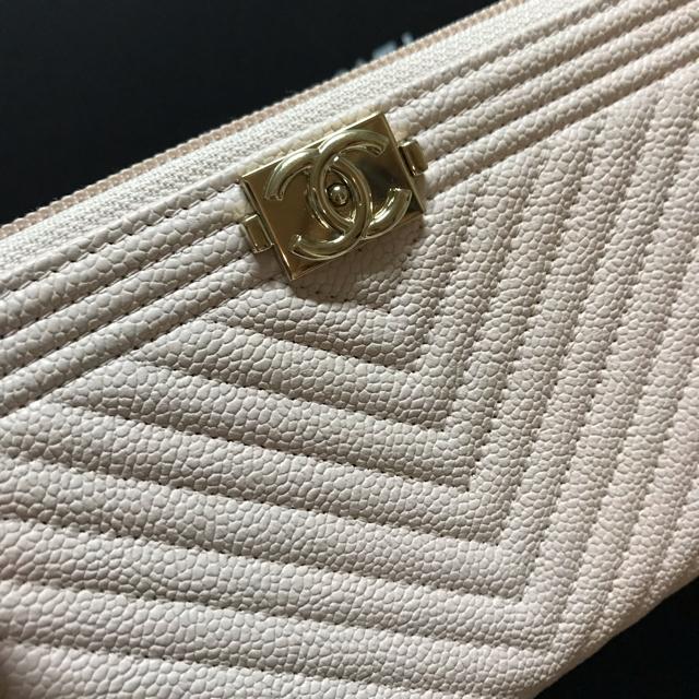オークション 時計 レプリカ販売 、 CHANEL - シェブロン ボーイシャネル 長財布 キャビアスキン 確認画像の通販 by coco|シャネルならラクマ