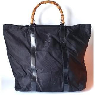 グッチ(Gucci)の⭐良上美品⭐グッチバンブー超実用大型トートバッグボストンバッグ⭐大容量イタリア製(トートバッグ)