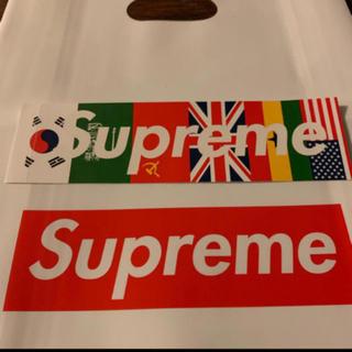 Supreme - supreme  シュプリーム  ステッカー 国旗