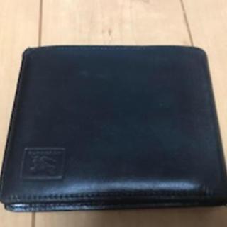 バーバリー(BURBERRY)の最終お値引き‼️ BURRBERRY 財布 ブラック(折り財布)