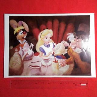 ディズニー(Disney)の不思議の国のアリス ミッキーと仲間たち ポスター(ポスター)