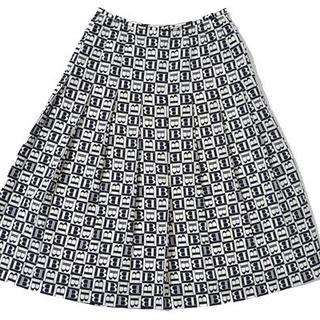バーバリー(BURBERRY)の◇BURBERRY◇size7 pleats skirt バーバリー (ひざ丈スカート)