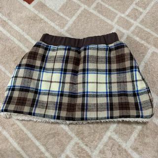 プティマイン(petit main)のプティマイン リバーシブルスカート 新品 80(スカート)