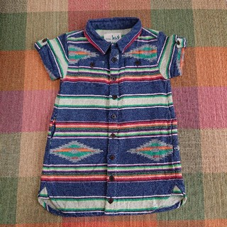 チチカカ(titicaca)のシャツワンピース エスニック(ワンピース)