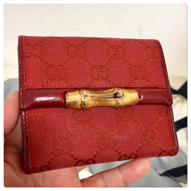 Gucci - 【美品】GUCCI(グッチ)折り財布の通販 by ジョーカー's shop|グッチならラクマ