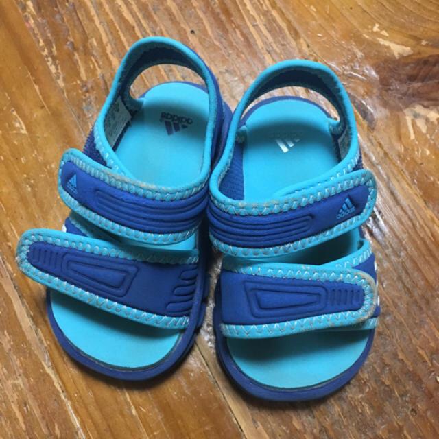 adidas(アディダス)のadidas サンダル12 キッズ/ベビー/マタニティのベビー靴/シューズ(~14cm)(サンダル)の商品写真