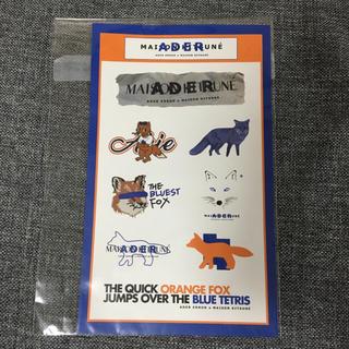 メゾンキツネ(MAISON KITSUNE')の最安値 Maison kitsune adererror コラボ ステッカー(その他)