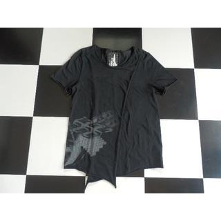 ★格安 OKIRAKU デザインカットソー M 半袖Tシャツ モード ブランド