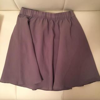 スタニングルアー(STUNNING LURE)のスタニングルアー グレージュ スカート Fサイズ(ミニスカート)