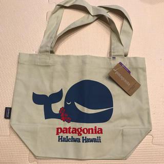 パタゴニア(patagonia)の新品未使用 パタゴニア トートバッグ パタロハ クジラ柄(トートバッグ)