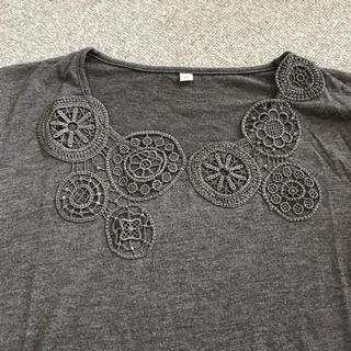 ベルメゾン(ベルメゾン)のベルメゾン 刺繍付きカットソー(カットソー(長袖/七分))
