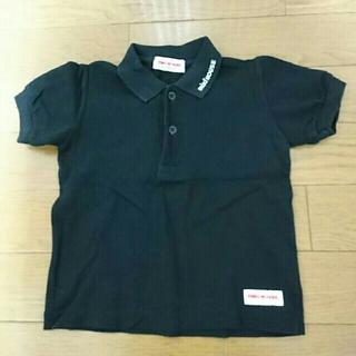 ミキハウス(mikihouse)のミキハウス MIKI HOUSE ポロシャツ  黒 シャツ 80(シャツ/カットソー)
