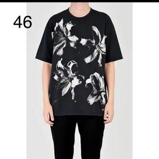 ラッドミュージシャン(LAD MUSICIAN)のユリ 百合柄 ビックT サイズ46 新品未使用品 (Tシャツ/カットソー(半袖/袖なし))