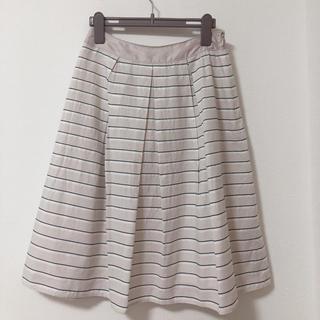 エムエフエディトリアル(m.f.editorial)の美品 エムエフエディトリアルのスカート(ひざ丈スカート)