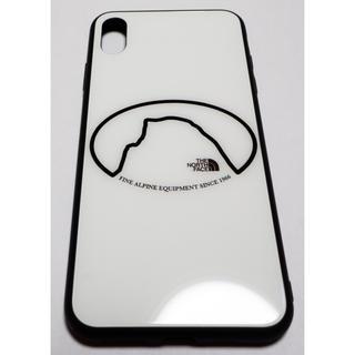 ザノースフェイス(THE NORTH FACE)のThe North Face iPhoneケース強化ガラス 白 13(iPhoneケース)
