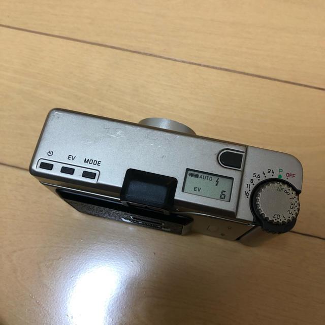 LEICA(ライカ)の【美品】leica minilux 40mm f2.4 DB、速写ケース スマホ/家電/カメラのカメラ(フィルムカメラ)の商品写真