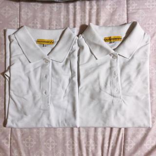 シマムラ(しまむら)の白 ポロシャツ 2枚(ポロシャツ)
