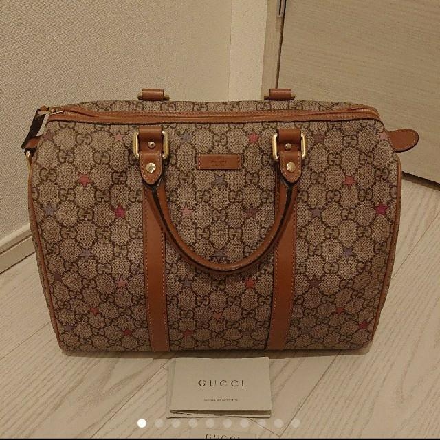 ジバンシー バッグ 偽物わかる - Gucci - GUCCIボストンバッグの通販 by しゅー's shop|グッチならラクマ