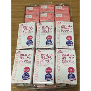 モリナガセイカ(森永製菓)の森永 おいしいコラーゲンドリンク ピーチ味 30本(コラーゲン)
