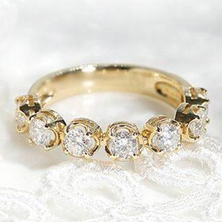 エタニティリング ゴールド ダイヤモンド テニスリング (リング(指輪))