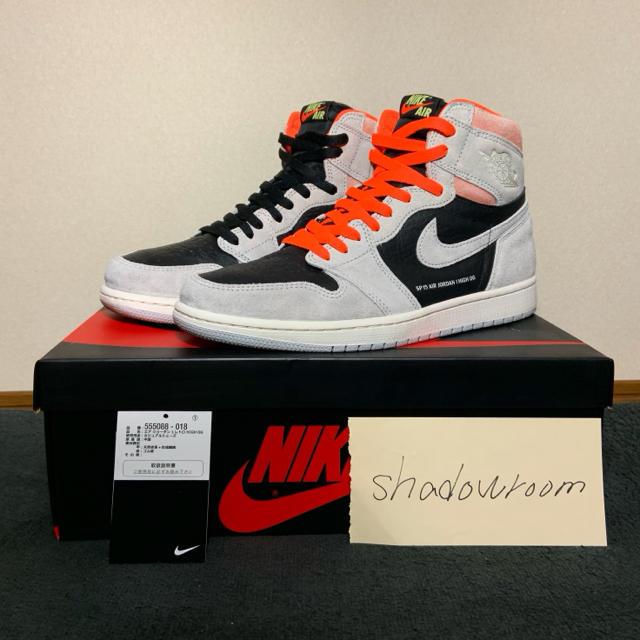 NIKE(ナイキ)のNike Air Jordan1 Retro Hgih OG 28 US10 メンズの靴/シューズ(スニーカー)の商品写真