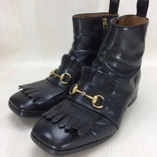 グッチ(Gucci)のGUCCI ホースビット サイドジップブーツ 8 1/2(ブーツ)