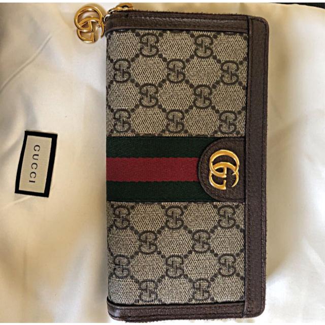 Gucci - GUCCI 長財布の通販 by F。's shop|グッチならラクマ