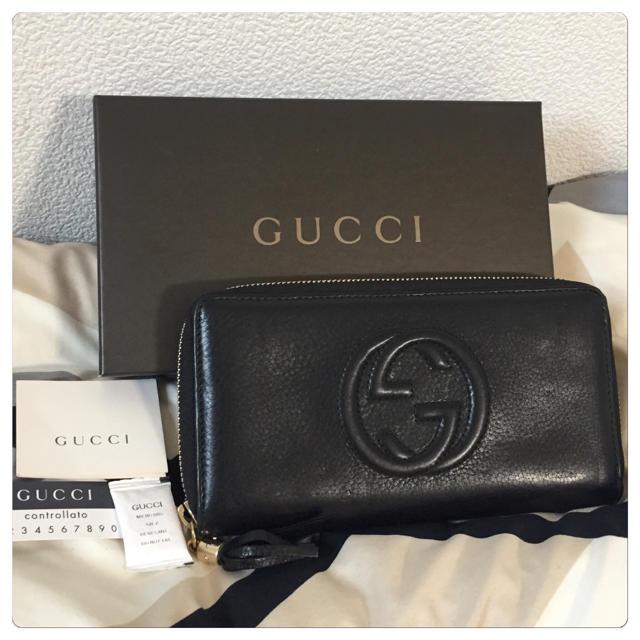 ブルガリ 財布 偽物ブランド - Gucci - 【美品】GUCCI(グッチ)長財布の通販 by ジョーカー's shop|グッチならラクマ