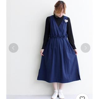 シャンブルドゥシャーム(chambre de charme)のchambre de charme Noir*ジャンパースカート(ひざ丈ワンピース)