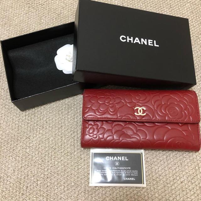 CHANEL - お値下げ!CHANEL 財布 カメリアの通販 by sherry's shop|シャネルならラクマ