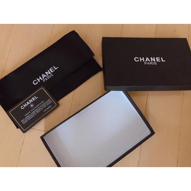 CHANEL - CHANEL箱の通販 by uu|シャネルならラクマ