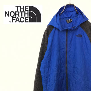 ザノースフェイス(THE NORTH FACE)の【US規格】ノースフェイス ナイロンジャケット 古着 90s ワンポイントロゴ(ブルゾン)