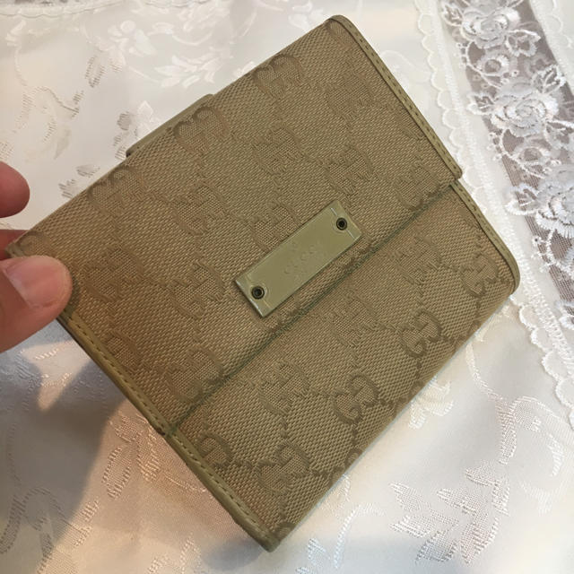 Gucci - 美品❣️ GUCCI 折財布の通販 by Sachi's shop|グッチならラクマ