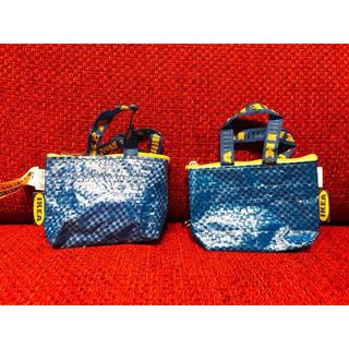 IKEA - 【2個セット】KNOLIG クノーリグ バッグ, S ブルー