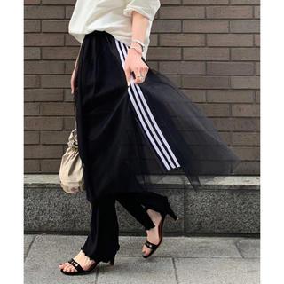 アディダス(adidas)のadidas チュールスカート Lサイズ(ロングスカート)