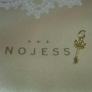 NOJESS - NOJESS ダイヤモンド付 鍵モチーフペンダントチャーム