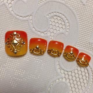 オレンジロココ(ペディ)
