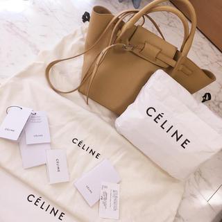 セリーヌ(celine)の美品 正規品 本物 CELINE セリーヌ ビッグバッグ ハンドバッグ(ショルダーバッグ)